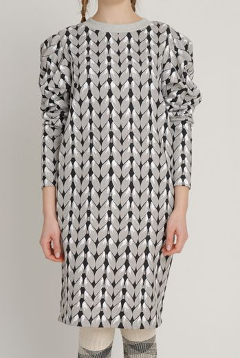 AW1213 KNIT YOU LIKE JUMPER DRESS - SAND