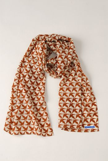 AW1213 THOUSAND PHEASANTS WRAP SCARF - VARIOUS - Other Image