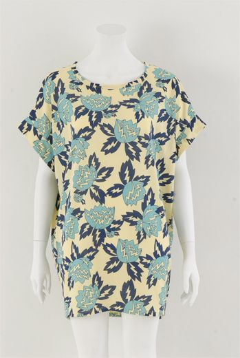 HSS13 MAGNOLIA HYSTERIA SACK TUNIC - Other Image