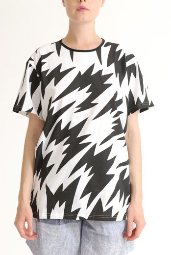SS12 FLASH/GIANT FLASH UNISEX TEE - BLACK