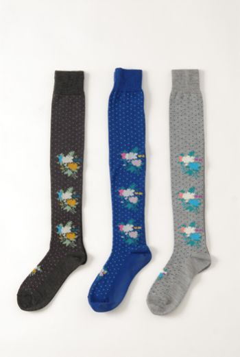 AW1314 DOILY LONG SOCKS