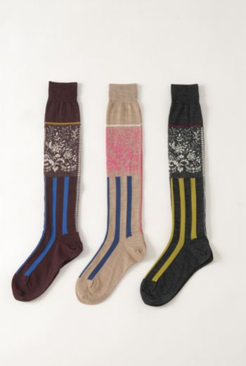 AW1314 BOARDER LONG SOCKS