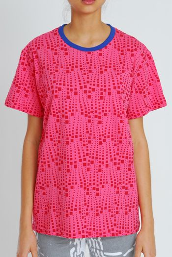 SS11 SPARKLES UNISEX TEE - WATERMELON - Other Image