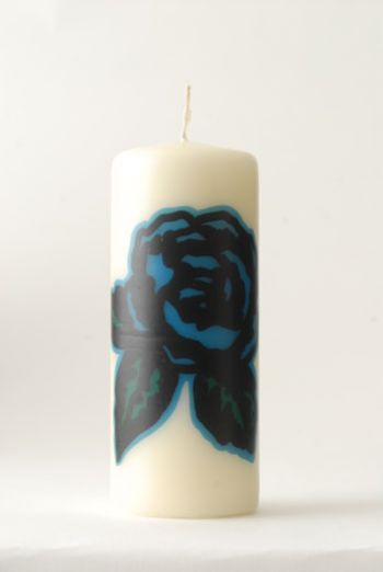 XMAS1213 TWEED&ROSES CANDLE