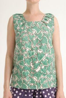 SS12 POSY IVY KANGA SHELL TOP -GREEN