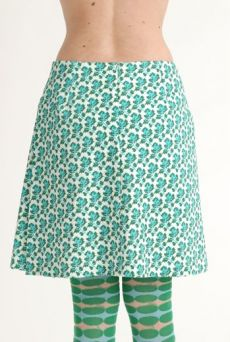 SS12 MINI MEAN ROSES SIDE PLEAT SKIRT - Other Image
