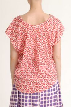 SS12 MINI MEAN ROSES 3 SEAM TOP - PINK - Other Image