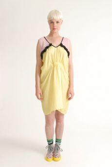 SS12 SILK HABOTAI NIGHTY DRESS - VARIOUS - Other Image