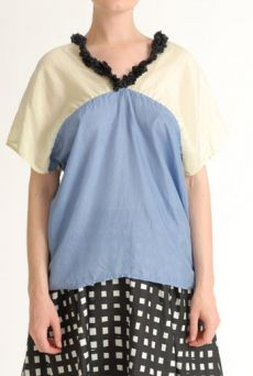 SS12 SILK HABOTAI ALL SQUARE TOP - VARIOUS