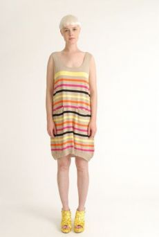 SS12 STRIPY KNIT DRESS - VARIOUS - Other Image