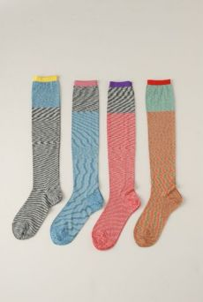 SS12 SPACE DYED KNEE HIGH SOCKS - VARIOUS