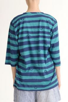 SS12 WONDER BORDER METRO TEE - VARIOUS - Other Image
