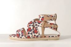 SS12 MINI MEAN ROSES FLAT BANDAGE - RED