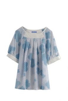 HSS12 TOY TOWN ANGEL TOP - BLUE