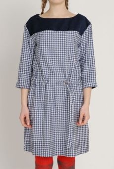 AW1213 HOUNDS CHASE TUNIC - NAVY