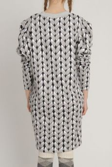 AW1213 KNIT YOU LIKE JUMPER DRESS - SAND - Other Image