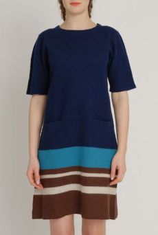 AW1213 BOILED NOMAD DRESS - VARIOUS - Other Image