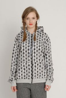 AW1213 KNIT YOU LIKE HYPER HOODY - SAND