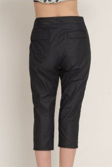 SS13 COTTON SILESIA SHRUNK SLACKS - Other Image