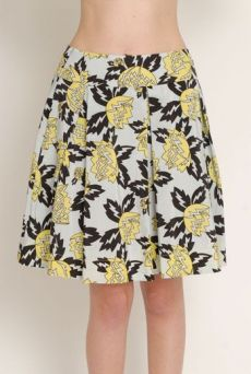 SS13 MAGNOLIA HYSTERIA 6 PLEATS SKIRT