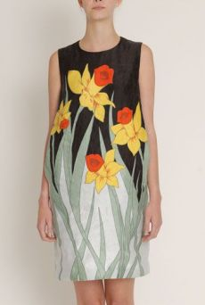 SS13 TALKING DAFFODIL DRESS