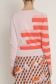 SS13 CUBOID STRIPE CARDIGAN - Other Image