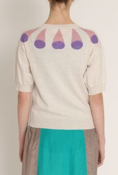 SS13 CONE NECK CARDIGAN - Other Image