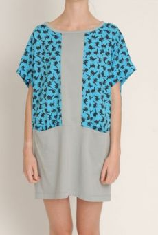 SS13 FIZZY PUSSYS CONTRAST TUNIC DRESS