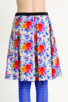 AW1314 IMPRESSIONS BOUQUET PLEAT SKIRT - Other Image