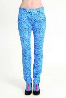 AW1314 LA LA LYON TUCK KNEE TROUSERS