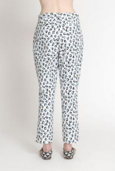 SS14 CUBIC MOLECULES TUCKED TROUSERS - Other Image