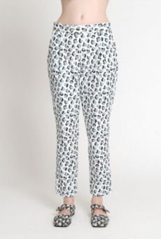 SS14 CUBIC MOLECULES TUCKED TROUSERS