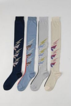 SS14 BUTTERFLY LONG SOCK