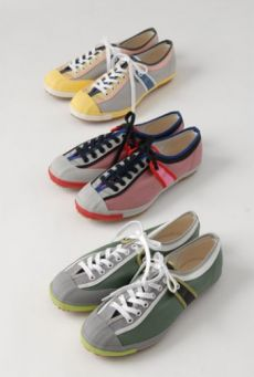 SS14 COLOR BLOCK LACE UP DAPS
