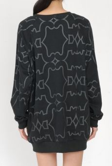 AW15 VANITY CATS POCKET SWEATSHIRT - Other Image