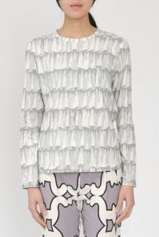 AW15 FRILLS LONG SLEEVE TEE - Other Image