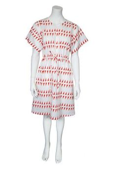 SS17 LITTLE HILLS AND VALLEYS YUKATA DRESS - Other Image