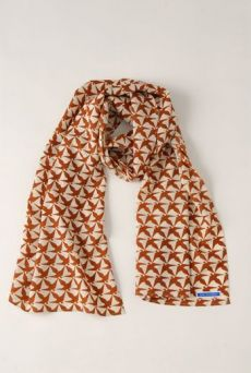 AW1213 THOUSAND PHEASANTS WRAP SCARF - VARIOUS