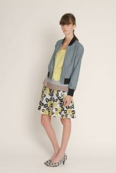 SS13 MAGNOLIA HYSTERIA 6 PLEATS SKIRT - Other Image